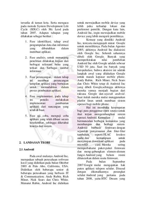 format penulisan jurnal skripsi gunadarma contoh jurnal skripsi gunadarma