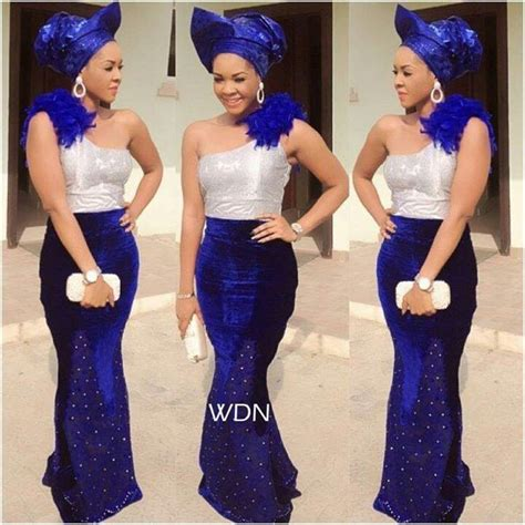 print african fashion nigerian aso ebi styles the velvet aso ebi is the latest style fashion plate