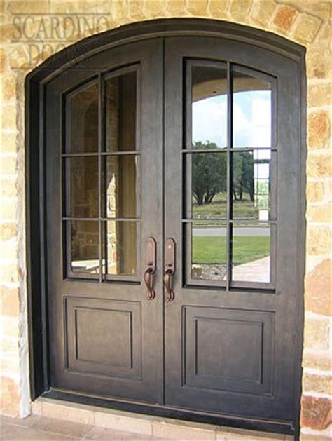 American Iron Doors by Wrought Iron Wood Door Gallery Scardino Doors