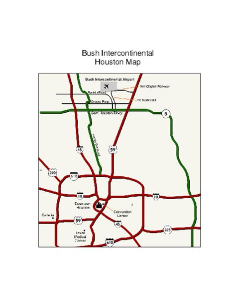 map of george bush intercontinental airport houston texas object moved