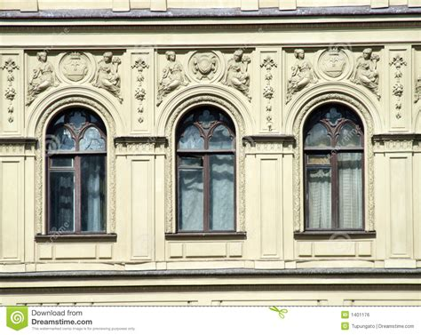 architecture windows and decorations royalty free stock image image 1401176