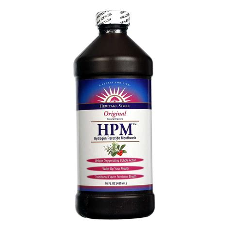 Will Hydrogen Peroxide Cause A Detox Crisis by Heritage Products Hydrogen Peroxide Mouthwash Original