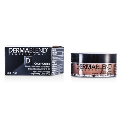 Dermablend Cover Creme dermablend new zealand cover creme broad spectrum spf 30