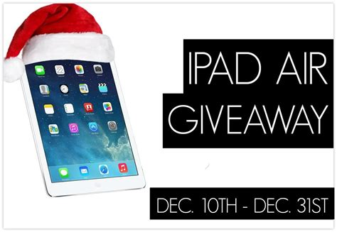 Ipad Air Sweepstakes - giveaway apple ipad air giveaways ipad ipad air