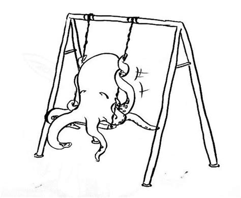 swing drawing playground swing drawing www imgkid com the image kid