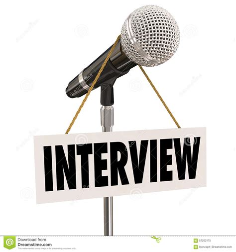 Interview Questions by Interview Hanging Sign Microphone Word Questions Answers