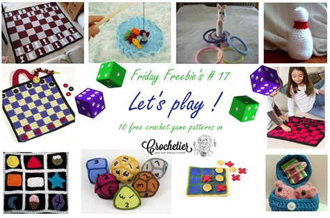 pattern play games friday freebie s 17 let s play crochetier com
