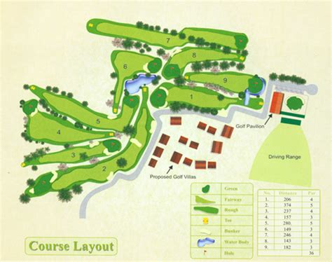 golf course layout design golf course aalloa hills