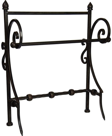 Wrought Iron Towel Rack by Wrought Iron Towel Holder In Paper Towel Holders
