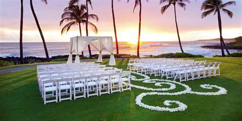 Wedding Venues Kauai by Sheraton Kauai Resort Weddings Get Prices For Wedding