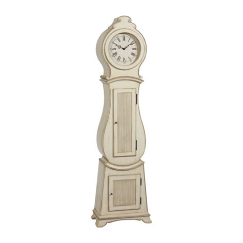floor clocks ethan allen white gustavian floor clock for the home