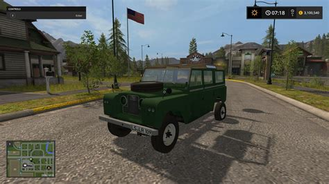 land rover mod land rover defender 110 fs2017 farming simulator 2017