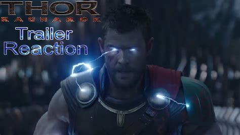 A Place Trailer Reaction Thor Ragnarok Trailer 2 Reaction