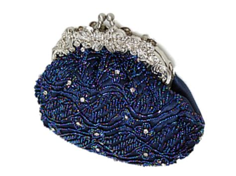 beaded clutch bag blue handbags navy blue beaded handbag