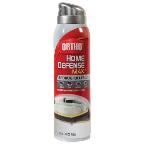shop ortho 18 oz bed bug aerosol spray at lowes