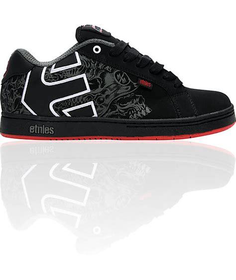etnies x metal mulisha fader black shoes at zumiez pdp