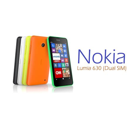 lumia with dual lumia 630 dual sim now available in pakistan