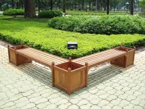 garden box bench bench and flower box combo v295