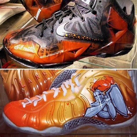gilbert arenas basketball shoes gilbert arenas got custom shoes for his grant high alumni