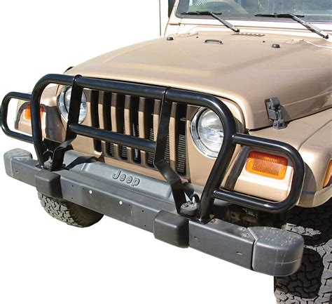 Jeep Tj Grille Rage Products Grille Guard For 87 06 Jeep