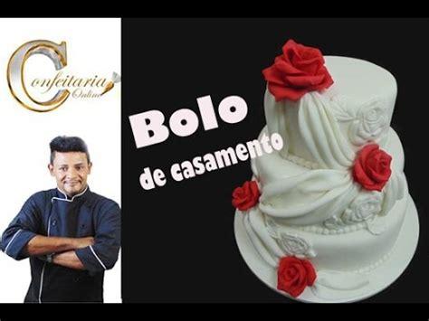 como decorar um bolo de casamento massa de bolo profissional doovi