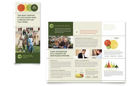 free mortgage flyer templates mortgage broker tri fold brochure template word publisher
