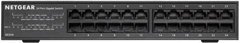 Dijamin Netgear Gs324 Switch 24 Port Gigabit Ethernet netgear gs324 switch 24 port gigabit ethernet bei
