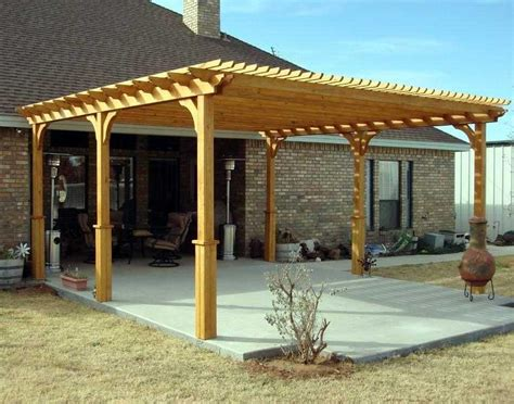 Free Standing Pergola Plans Woodwork Pergola Building Materials