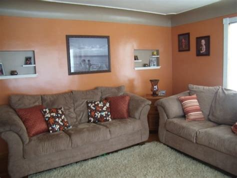 orange and brown living room orange brown living room orange coral peach