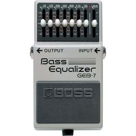 jual geb 7 bass equalizer pedal