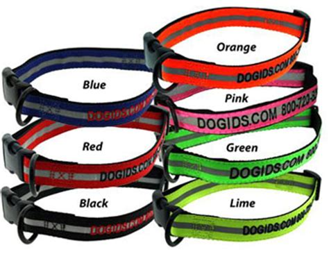 personalized reflective collars personalized collars 4 dogs custom reflective collars
