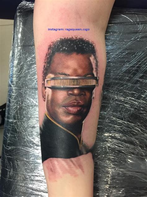 star trek tattoo awesome trek tattoos list for us