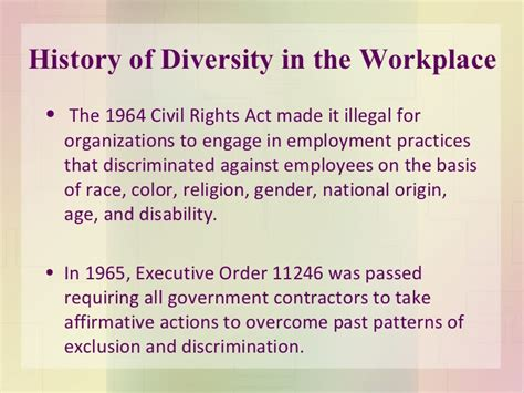 pattern discrimination definition diversity in the workplace