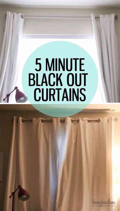make your own blackout curtains 27 simple sewing projects you can make in less than 5