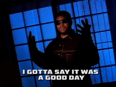 ice cube it was a good day youtube ice cube gifs find share on giphy