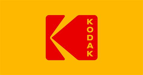 Vintage Kodak Logo kodak s new logo is a return to the classic 1970s logo