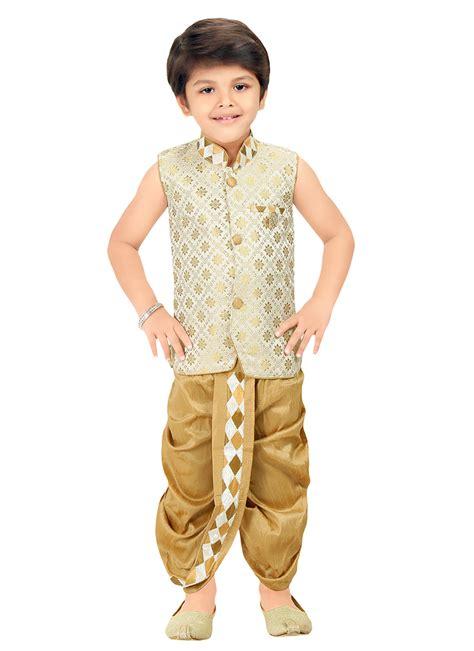 dhoti pattern kurti online buy beige n cream kids dhoti kurta set boys dhoti kurta