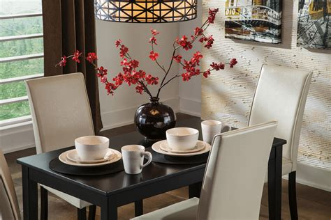 kimonte rectangular dining room table d250 25 tables signature design by ashley kimonte d250 25 contemporary