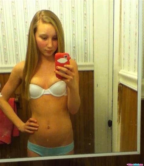porn teen bathroom young teen in bathroom underwear selfie still in school