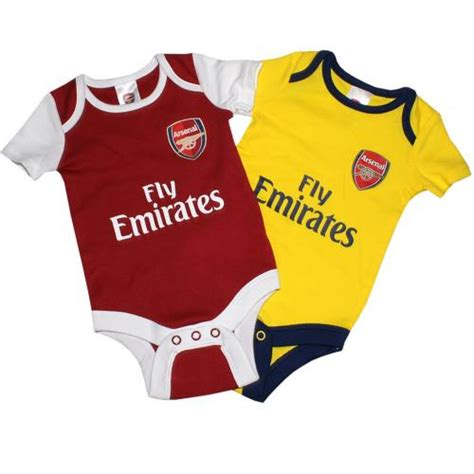 Baby Dress Arsenal Away 1516 arsenal fc babygrow 0 3 months baby clothing football gifts