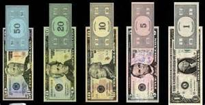 monopoly money colors your money vs real money humores y amores
