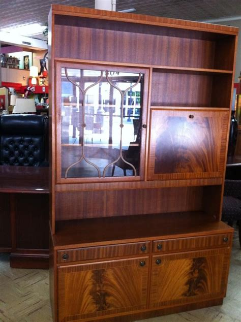 beautiful vintage wall unit with drop desk yelp