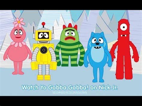 yo gabba gabba! magic word adventure | full game 2014