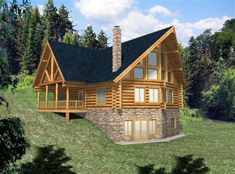 lake house plans for sloping lots simple affordable