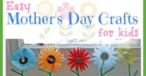 simple mothers day crafts for easy mothers day crafts for in lieu of preschool