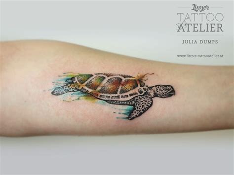 watercolor tattoo turtle turtle watercolor tattoos