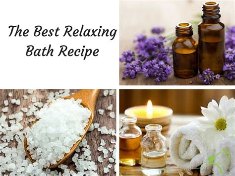 best relaxing best relaxing bath recipe to destress and boost