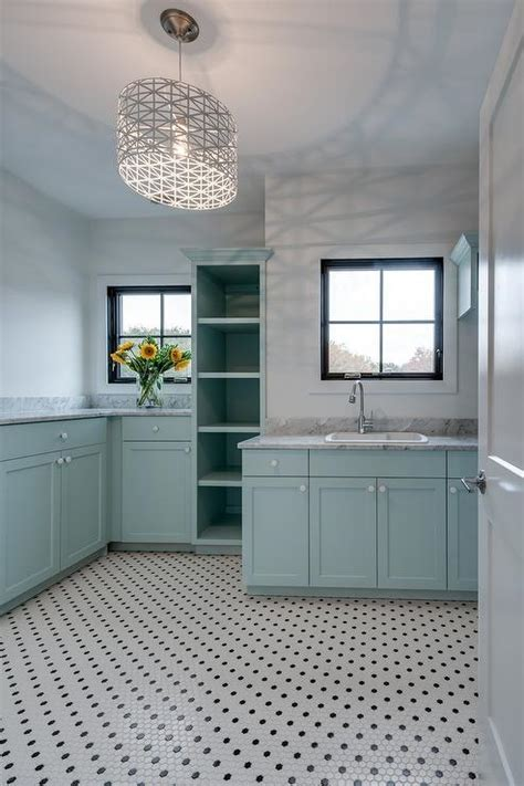 blue laundry turquoise blue laundry room with gray marble countertops