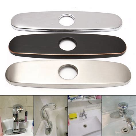 stainless steel sink cover plate popular sink hole cover buy cheap sink hole cover lots