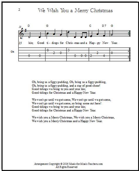 merry christmas chords  guitar